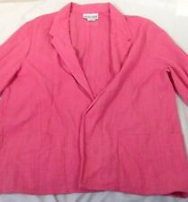 St1357 The Season Ticket Women's Pink Collared Quarter-Sleeved Top Size 44