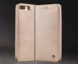 Stylish Luxury Wallet Leather Case Book Shape Cover for Apple iPhone 7 8 - Gold
