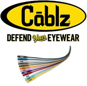 "Cablz Silicone Sunglass Retainers, 16"", Choice of Colors"