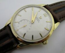 VINTAGE MENS OMEGA AUTOMATIC CALIBER 344 10K GOLD FILLED WRISTWATCH WATCH