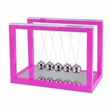 Aunmas Newtons Cradle Steel Balance Ball Desktop Ornament Swing Ball Desk Ac