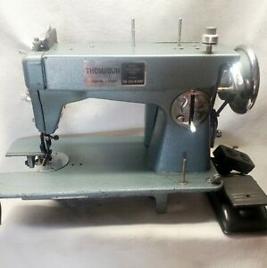 Vintage Thompson PW-103-A-GBP Mini Walking Foot Sewing Machine~Needs New Motor