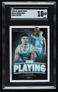 2020-21 Panini NBA Hoops Now Playing Lamelo Ball #SS-31 SGC 10 Rookie RC