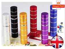 Small Refillable Travel Perfume Atomiser Atomizer Aftershave Spray Bottle - UK