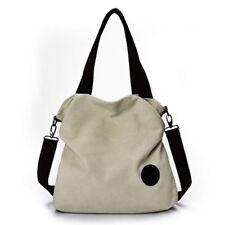 Casual Womens Hobo Canvas Handbag Shoulder Bags Purse Tote Large Sactchel Large