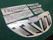 Triumph TT 600 decal set stickers graphics  restoration replacement 600