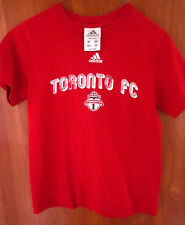 TORONTO FC crest logo youth small T shirt Adidas soccer kids tee MLS distressed
