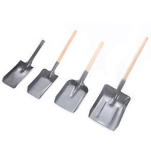 Kohlenschaufel Handschaufel Metallschaufel Ascheschaufel Kehrschaufel Grau 4 Gr.