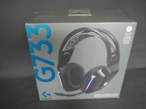 Logitech G733 LIGHTSPEED Wireless RGB Gaming Headset, kabellos,schwarz, Neu/OVP