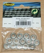 Carson C904031 Ball Bearing Set for Tamiya DT02/DT-02/DT03/DT-03, NIP
