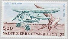 ST. PIERRE MIQUELON SPM 1990 594 C66 Flugzeug Airplane Bird Vogel Aviation MNH