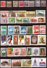 89T5 HONGRIE Lot de 45 timbres oblitérés , avant 1990 , sujets divers
