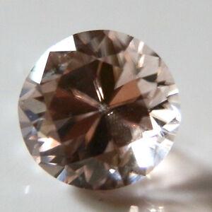 Soft natural pink zircon...quality round gem...1.94 Carat