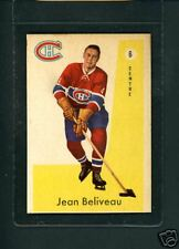 1959 1960 Parkhurst # 6 Jean Beliveau Canadiens