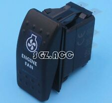 NEW ENGINE FAN Rocker Switch Carling ARB Narva Style BLUE LED Heaps of Designs