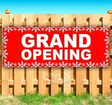 Grand Opening Advertising Vinyl Banner Flag Sign Many Sizes Usa Holidays Store