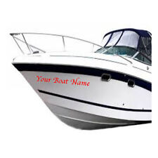 PERSONALISED BOAT NAME x4 Decals Sticker