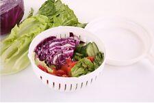 60 Second Salad Schäler Bowl Salat Obst Gemüse Cutter Salat Zerkleinerer WAB