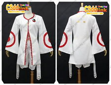 Deadman Wonderland Toto Sakigami Cosplay white Costume long sleeved