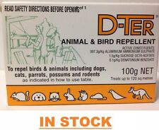 Dter Animal & Bird Repellent 100gm 4 Pk Repel Dogs, Cats, Possums Rodentsl