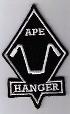 APE HANGER BIKER MOTORCYCLE PATCH IRON ON OR SEW ON