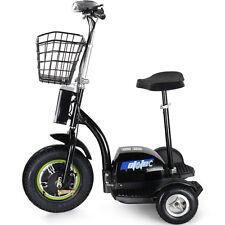 Electric Scooter EV Power 500 Watt 3 Wheeler Trike Mobility Basket Mo-Ped 48v RV