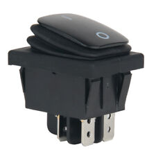 1X 12V Car Auto Boat Round Rocker ON/OFF TOGGLE SPST SWITCH Waterproof Universal