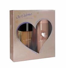JE T'AIME Tendrement Coffret pour Femme Eau de Parfum + Déodorant  EVAFLORPARIS