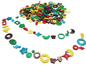 COCONUT Shell Shapes (250g)  coloured biodegradable Craft Art Children Jewellery