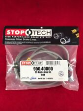 STOPTECH STAINLESS STEEL FRONT BRAKE LINE 93-95 HONDA CIVIC EX / SI  950.40000