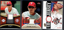 """LOT of (3) - Chase Utley Jersey - Game Used - Phillies LOT """"#11"""""""