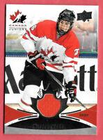 2016-17 Nicolas Hague Upper Deck Team Canada Juniors Jersey - Golden Knights