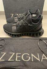 Ermenegildo Zegna Maze Runner Tecmerino Trainers Blk 8 UK 42 EU Brand New Boxed