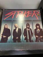 Record Album Striker self-titled LP VG