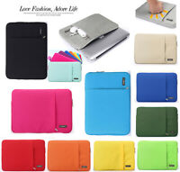 For Apple Macbook Air/Pro/Retina iPad Soft Waterprof Sleeve Case Cover Pouch Bag
