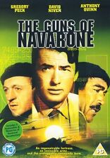 The Guns Of Navarone [DVD] Gregory Peck, David Niven Brand New and Sealed