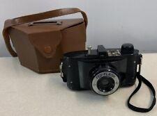 Federal Fed Flash Camera And Case 64mm Ultar Lens 127 Film Mid Century Working