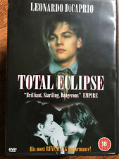 Leonardo DiCaprio TOTAL ECLIPSE ~ 1995 Rimbaud Poet Gay Interest Drama UK DVD