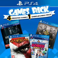 PS4 Games Bundle Sony Playstation 4 Game NEW God of War Hidden Agenda The Order