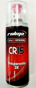 ROLMA CR15 FINITURA SPRAY LUCIDA TRASPARENTE 2K BICOMPONENTE X CARROZZERIA 400ML