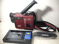 VideoMovie GR-C7U VHS Video Camera Red Untested Marty McFly