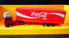 1980s COCA COLA Corgi VOLVO UK BHS EXC Diecast Model COKE Articulated Lorry 1/75