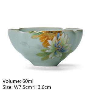 Jingdezhen boutique tea cup porcelain handmade cup of tea handpainted floral cup