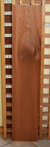 Mahagoni Brett Klang- Tonholz Tischplatte Schmuck- Bastelholz Regal Fenster Boot