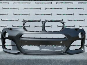BMW X3 X4 M SPORT F25 F26 2015-2019 FRONT BUMPER IN GREY GENUINE [B838]