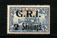 GERMANY COLONIES SAMOA BRITISH OCCUPATION Mi.11 .Pr.3800 € MH SIGNED