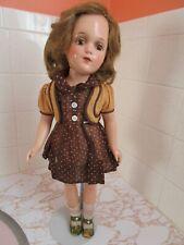 Super 1930s R&B Debuteen 18� Rosaline Doll, All Orig. Cloth Torso