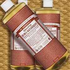 DR. Bronner'S MAGIC SOAP eucalipto 945ml sapone liquido Naturkosmetik Fair Vegan