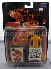 "Bruce Lee Game of Death 6"" Yellow Jumpsuit Action Figure AMOK Exclusive '98 NIP"