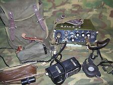 R-1260 Ricetrasmettitore militare vhf in FM da 44 - 53,975 Mhz Esercito RUMENO